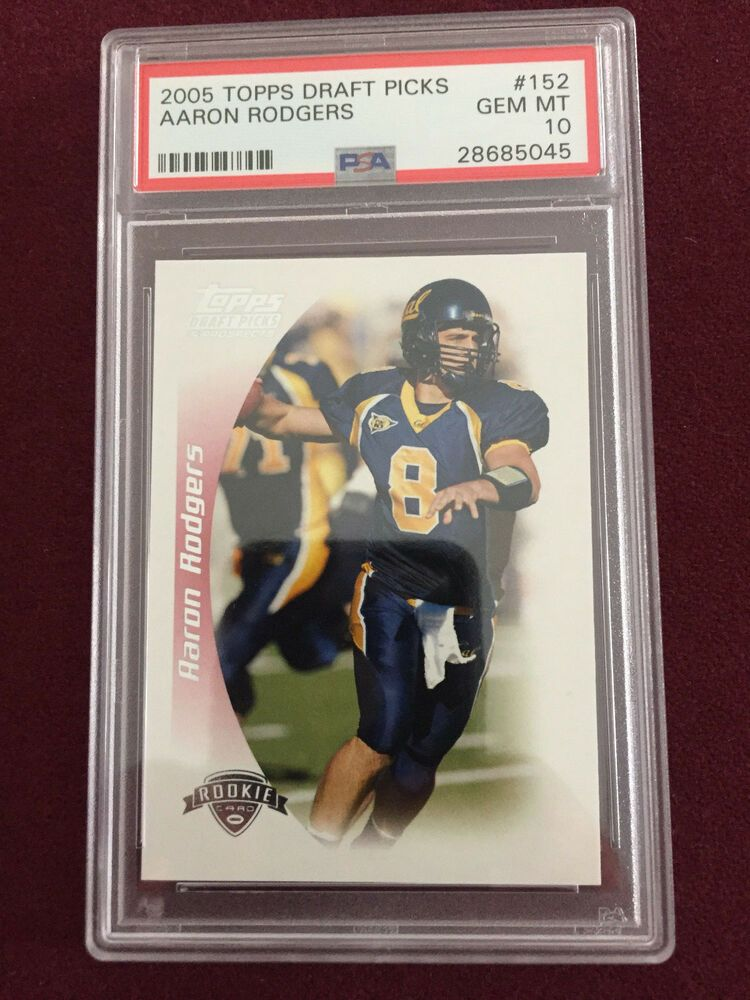 aaron rodgers rookie card topps total