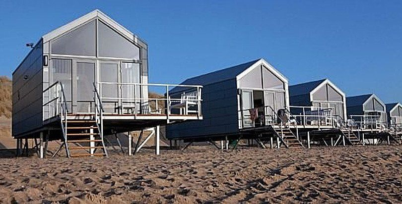 ferienhaus holland direkt am strand am meer mit meerblick urlaub reisen pinterest. Black Bedroom Furniture Sets. Home Design Ideas