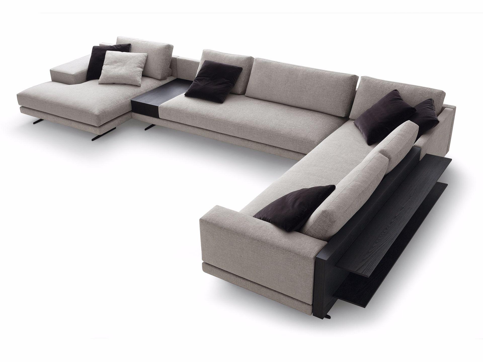 MONDRIAN Corner sofa Mondrian Collection by Poliform design Jean