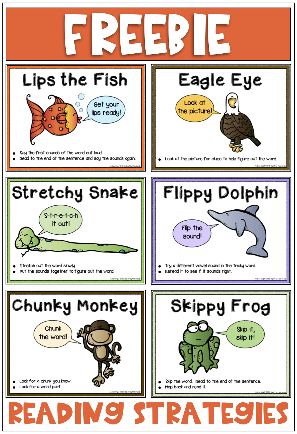 Reading Strategies for Early Readers