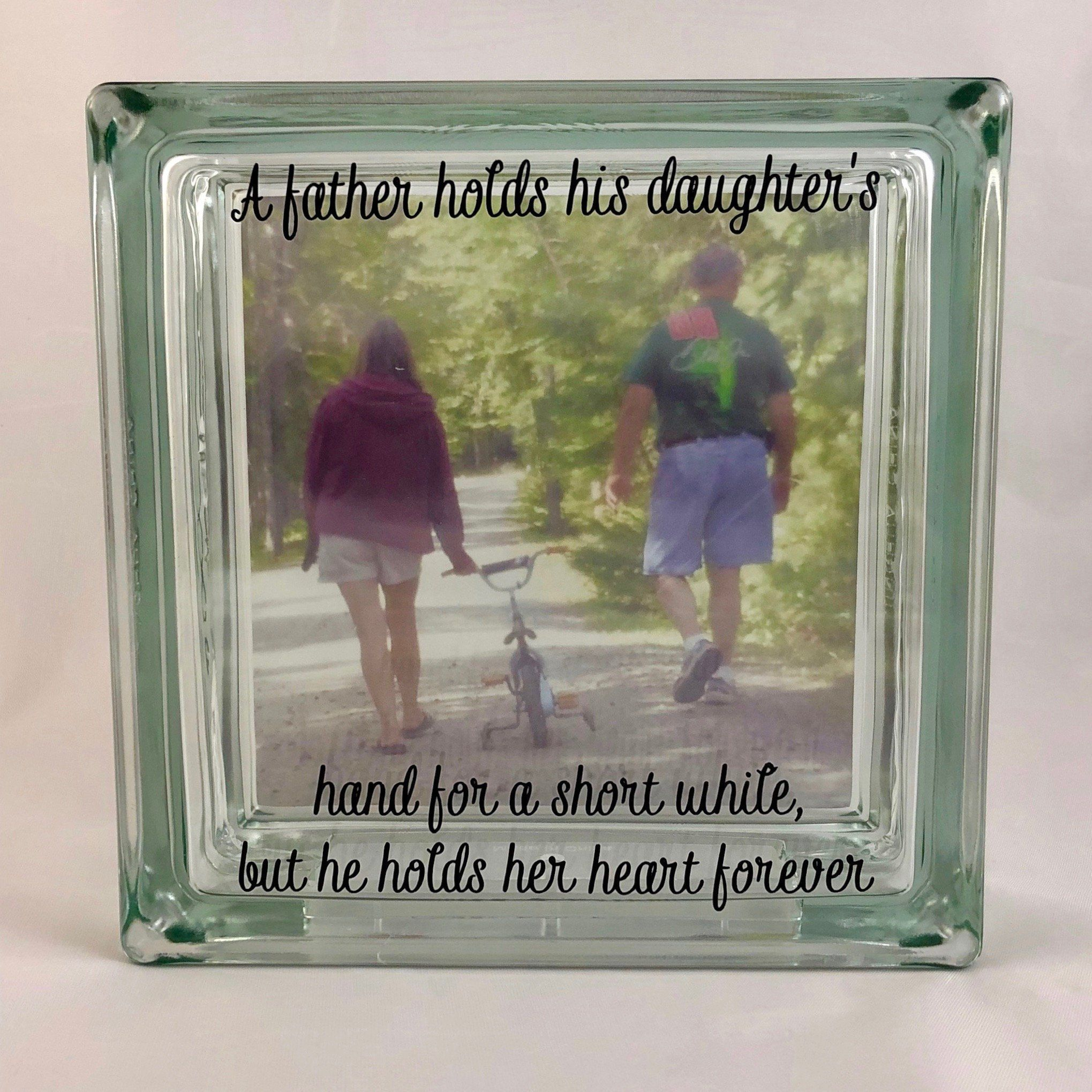 Father daughter gift memorial gift sympathy gift