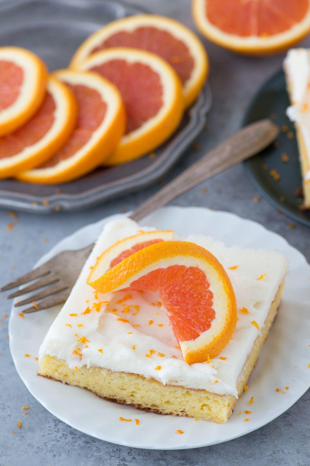 A quick dessert recipe for florida orange cake a doctored