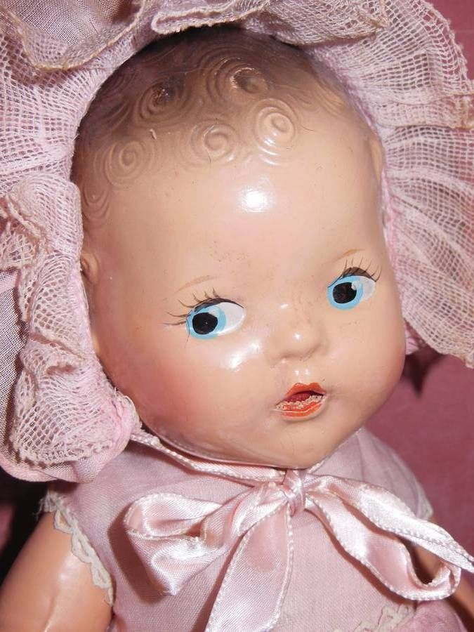 "COMPOSITION ARRANBEE R B 11"" MARKED ALL ORIGINAL CLOTHING DREAM BABY DOLL"