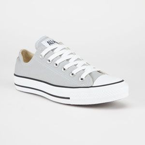 converse gris mujer