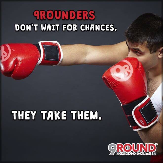 Time to take matters into your own hands! Take a chance and GET HEALTHY! #9Round #TakeAChance #GetHealthy