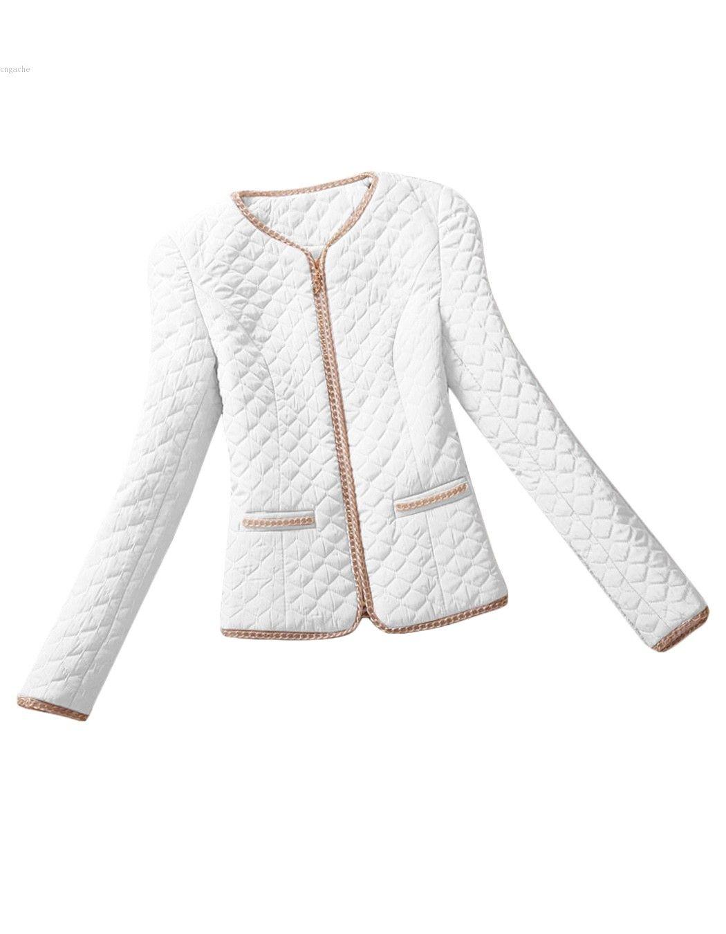 418da49ab1 Encontrar Más Chaquetas Básicas Información acerca de Chaqueta de algodón  para mujer de invierno y otoño capa de moda para mujer delgada de la  chaqueta de ...