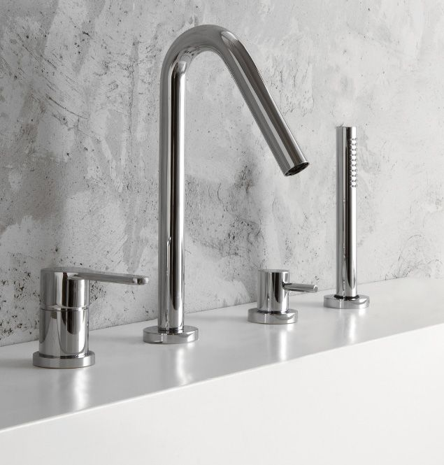 Robinetterie salle de bain pour vasque baignoire douche série
