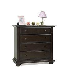 Baby Cache Serenity 4 Drawer Dresser (espresso)