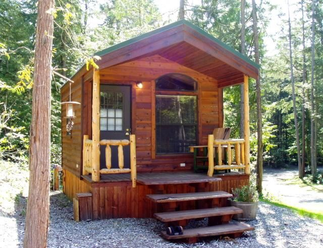 Cabins at Treefrog Woods 1280 Cape George Rd Port Townsend 360