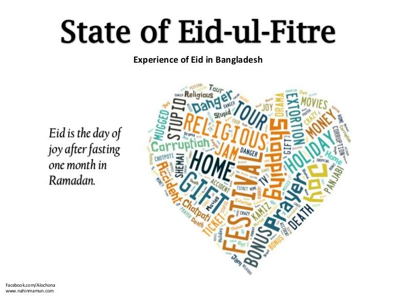 Eid-ul-Fitre by Nahin Mamun via Slideshare | Thoughts on