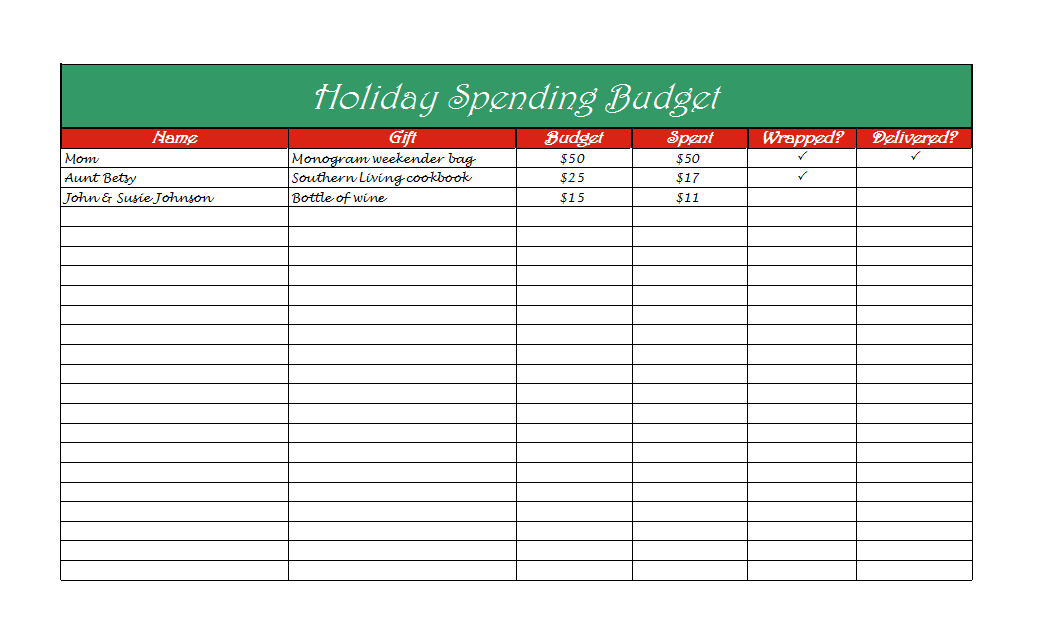 5 Steps To Help You Stick To Your Holiday Budget Plus A Free