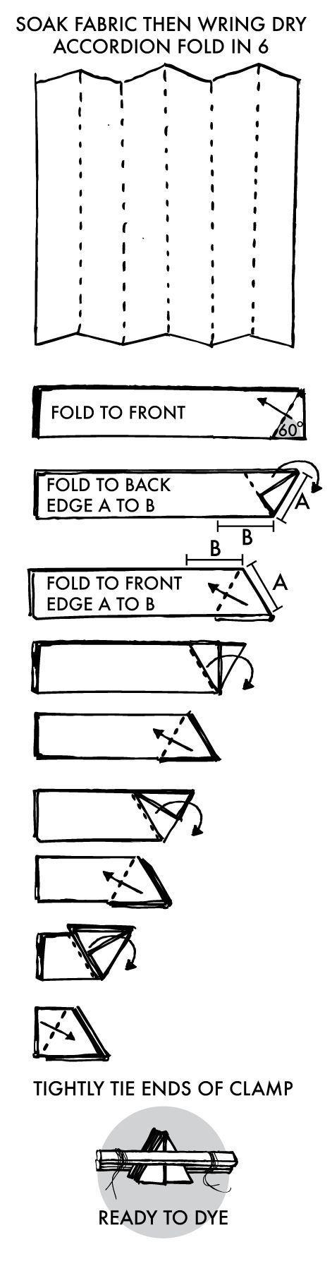Shibori Instructions Hexagon Honeycomb Shibori Fabric Fabric Dyeing Techniques How To Dye Fabric