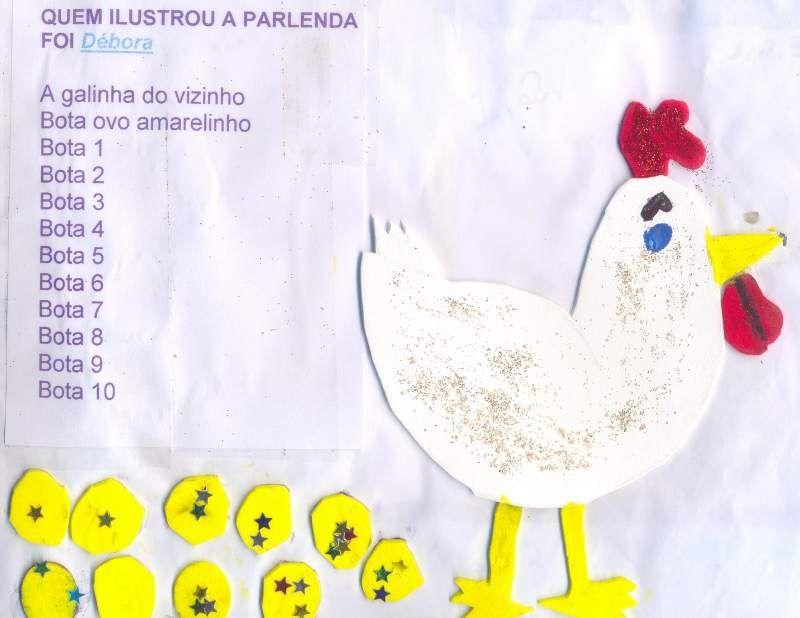 Caderno De Parlendas Ilustrado Aprender E Brincar Parlendas