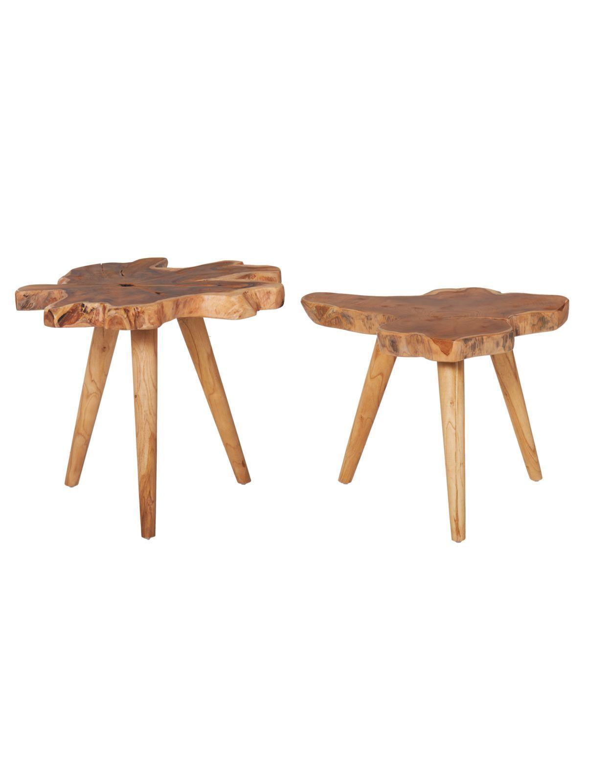 Beistelltische Modern beistelltisch set 2 tlg jim modern massivholz jetzt bestellen