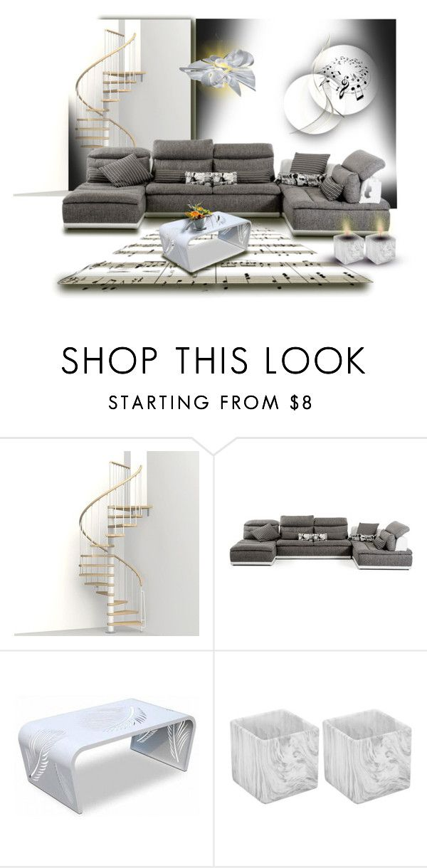 """""""Untitled #828"""" by pirzik ❤ liked on Polyvore featuring interior, interiors, interior design, home, home decor, interior decorating and Slamp"""