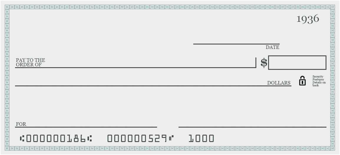 Download cashier check template wine chase blank