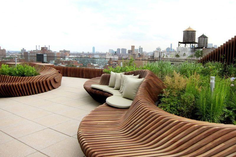 Dachterrasse gestalten - Tipps und 42 tolle Ideen | Dachterasse ...