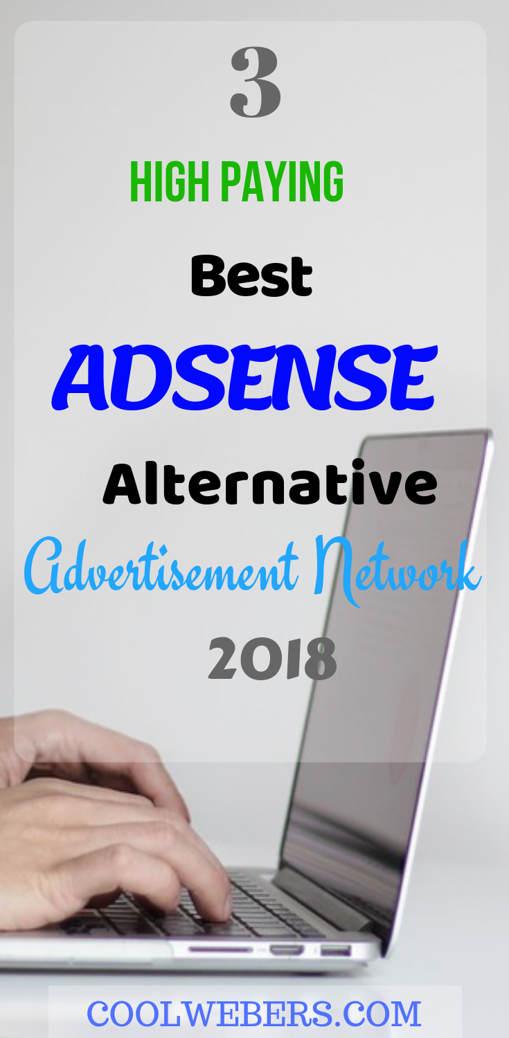 Omg There Is 3 High Paying Alternative Ad Network For Adsense
