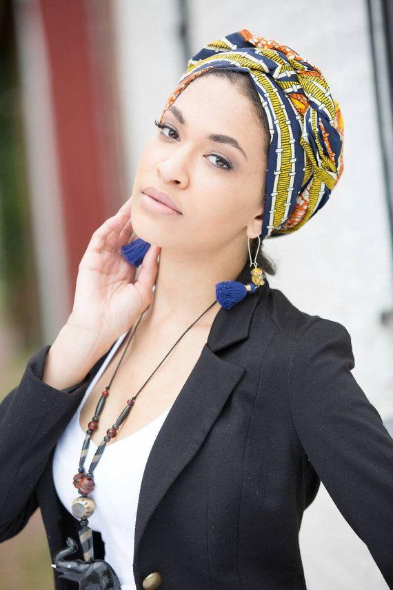 African head wraps for women, Ankara head wraps, A
