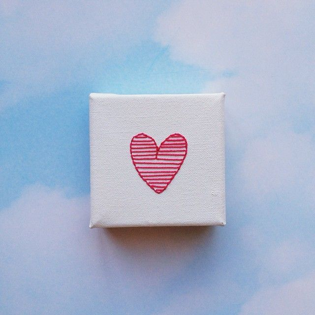 A pink heart in honour of Kaylee, beautiful daughter of my comrade in embroidery, Kristen @kaymaboutique.  An auction will be held later this week to support this sweet family in their grief... I will post details tomorrow but you can check out the beginnings over at @candlesforkaylee. In the meantime, please pray for Kristen and her family.
