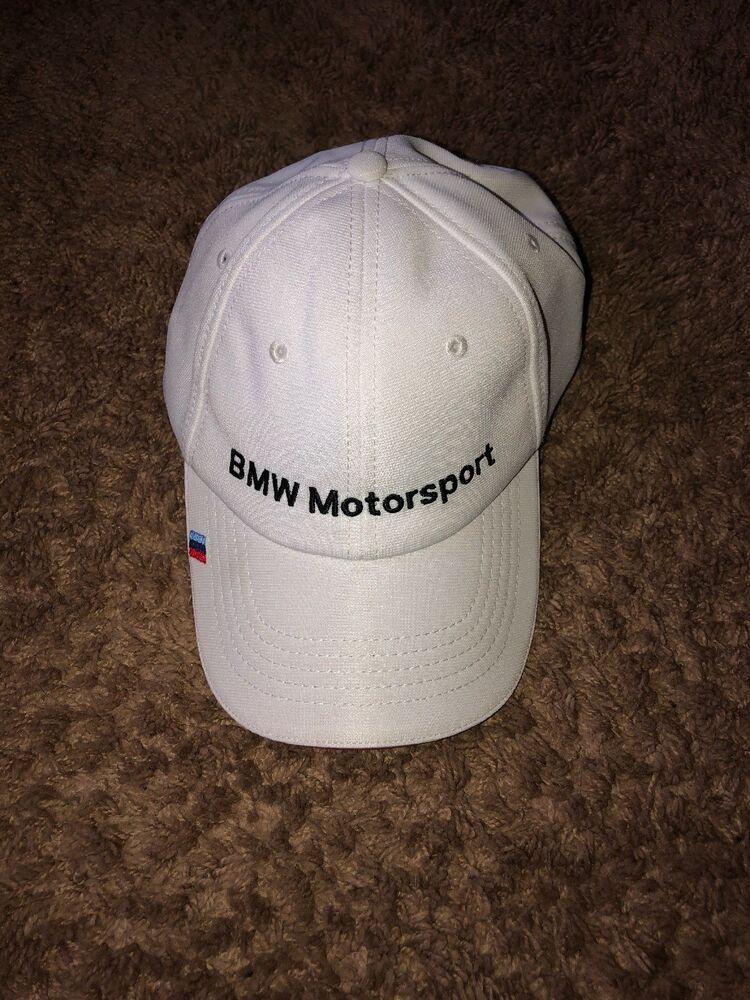 6a6bdb474b9 BMW Motorsport Fan Cap Brand New White Adjustable Clean  fashion  clothing   shoes
