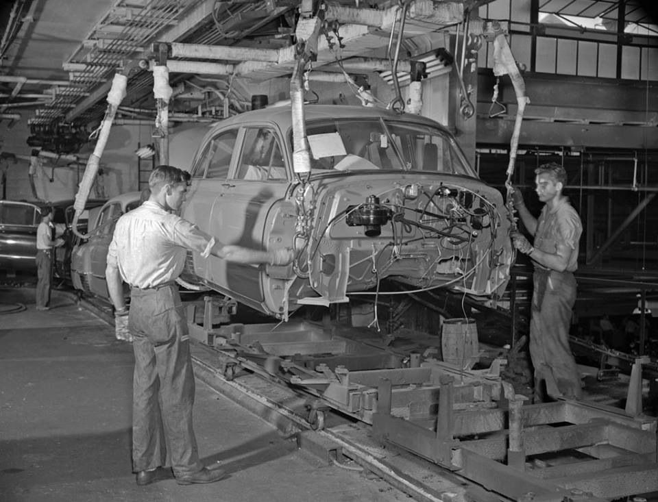 '50's Cadillac Assembly Line