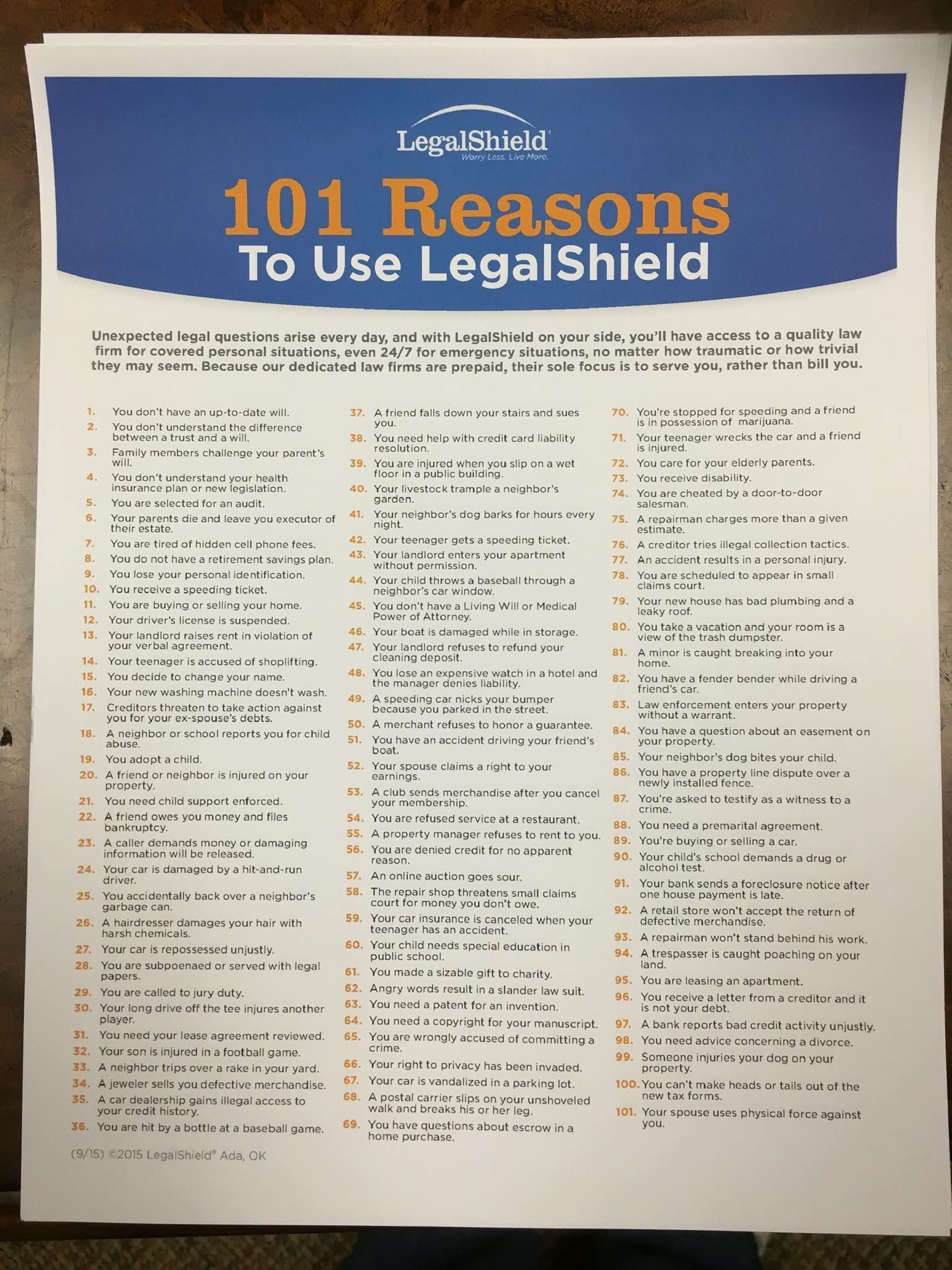 Pin by Robert Miller on Legal Shield/ID Shield