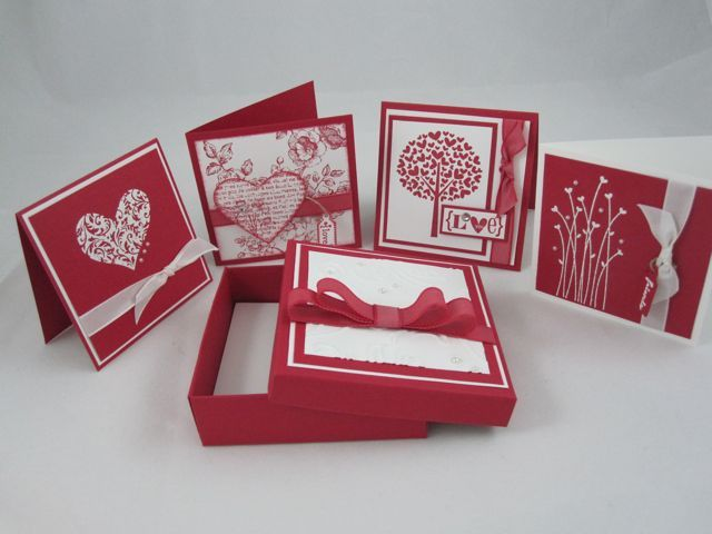 Valentine Box for 3x3 cards