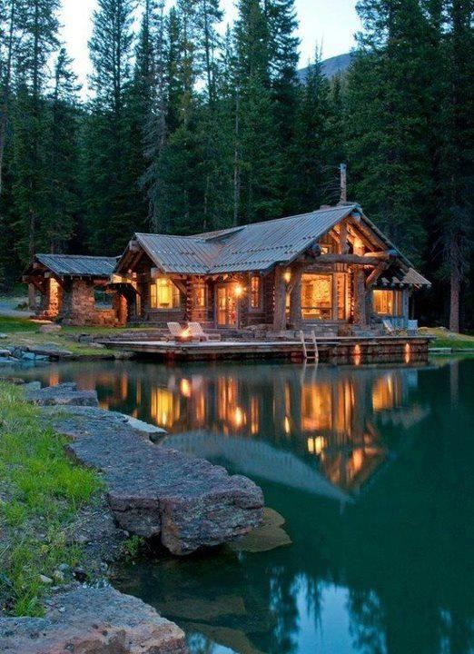 Romantic Lake House