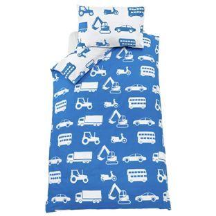 Buy Blue Transport Bedding Set - Single at Argos.co.uk - Your Online Shop for Children's bedding sets.