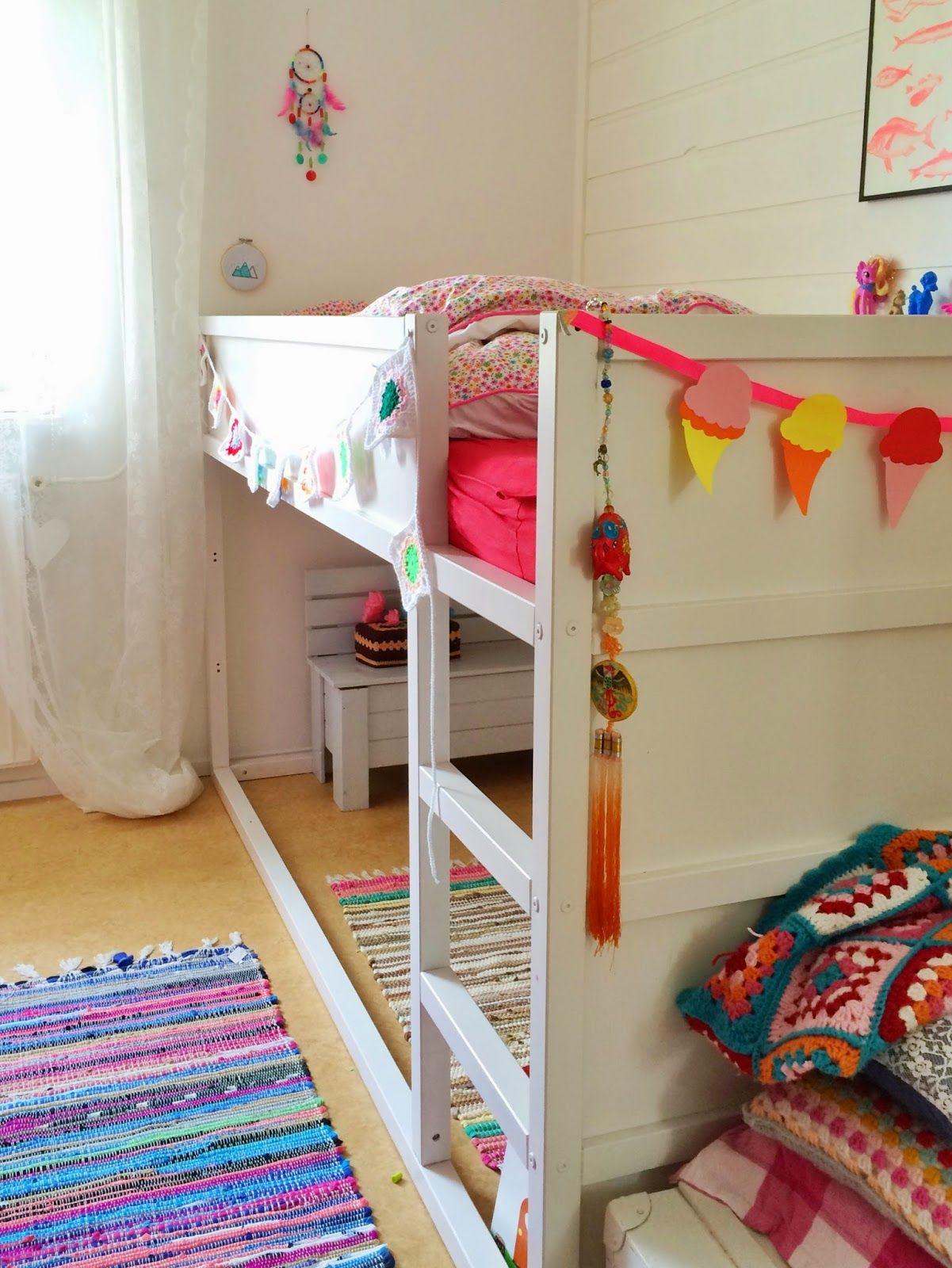bunkbed ikea for the kids. Black Bedroom Furniture Sets. Home Design Ideas