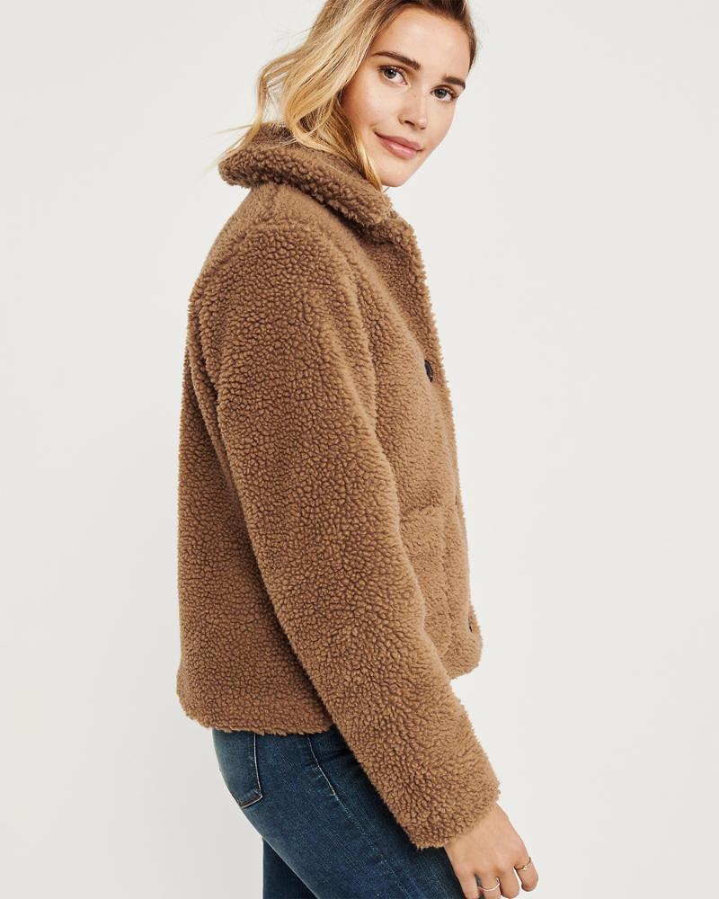 Womens Cozy Teddy Jacket Womens Coats Jackets Abercrombie Com Women S Coats Jackets Jackets For Women Coats For Women [ 1000 x 800 Pixel ]