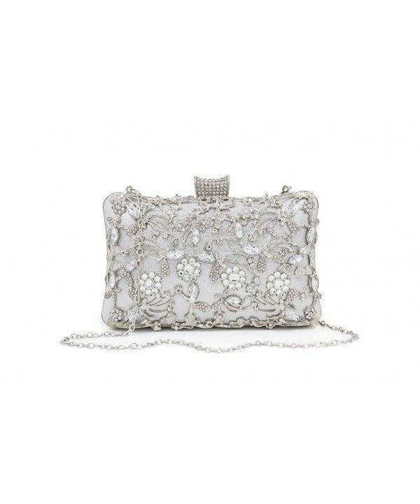 Rhinestone Evening Bag Clutch Purse Handbags Shoulder