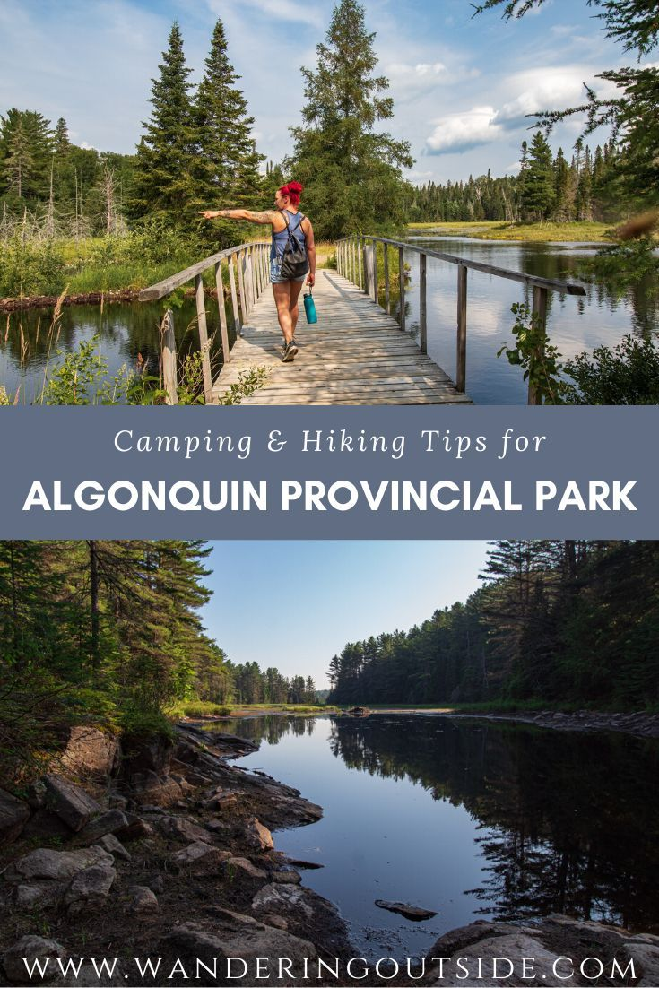 Have you ever thought of making a trip to Ontario's largest Provincial Park? Don't know where to camp or hike? Read this for some insight on your next road trip. #OntarioParks #ExploreCanada #FindYourselfHere #OntarioTravel #RoadTrip #HikingTrail #WomenWhoExplore #Canada #DiscoverOntario