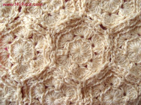 Mypicot Free Crochet Patterns Motifs Without Cutting Thread My