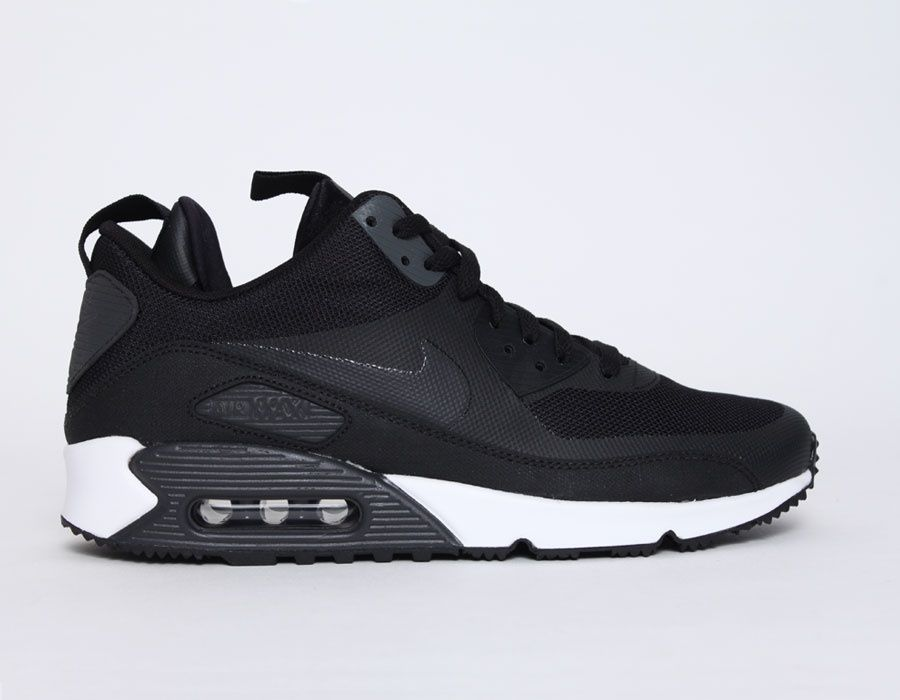 official photos 855d7 13324  Nike  AirMax 90  Sneakerboots Black  sneakers