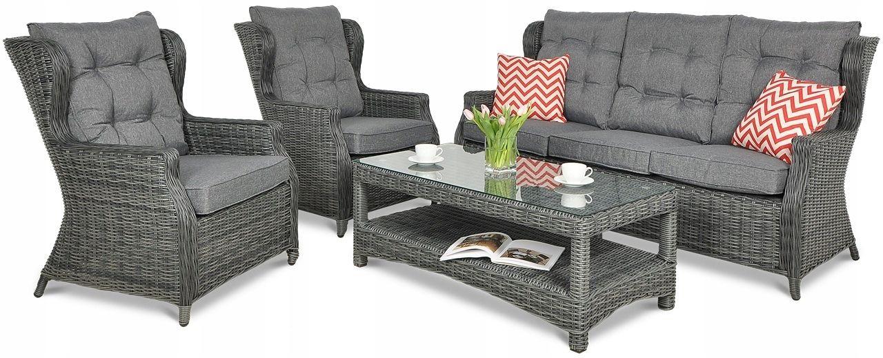 Zestaw Mebli Ogrodowych Technorattan Trivento Duzy 7840770620 Oficjalne Archiwum Allegro Outdoor Furniture Outdoor Furniture Sets Furniture