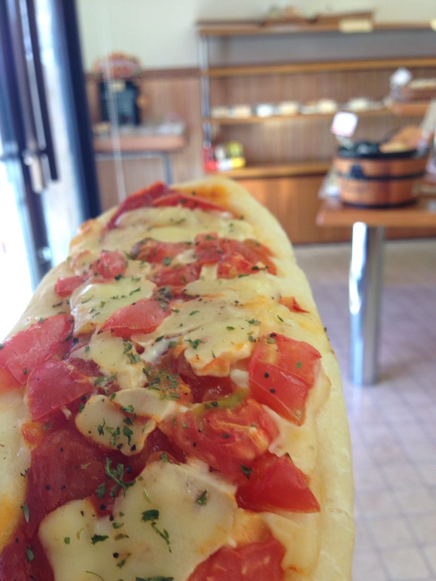 8 octobre midi pizza!
