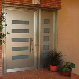 Fabricantes de puertas met licas puertas pinterest for Puertas metalicas para interiores