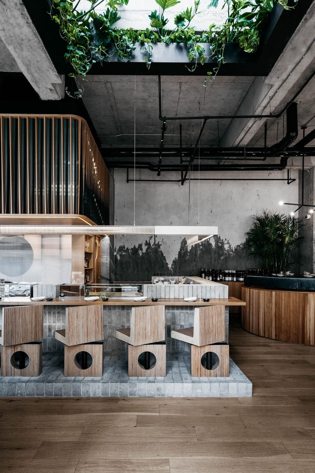 An Inside Look At Ryu Restaurant In Montreal Restaurant Interior