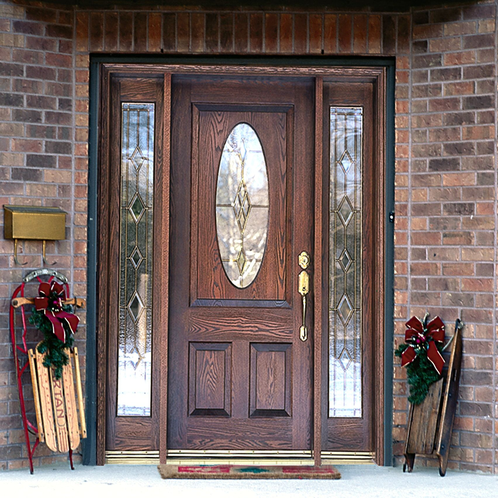 wood front doors with sidelights - Google Search | House Update ...