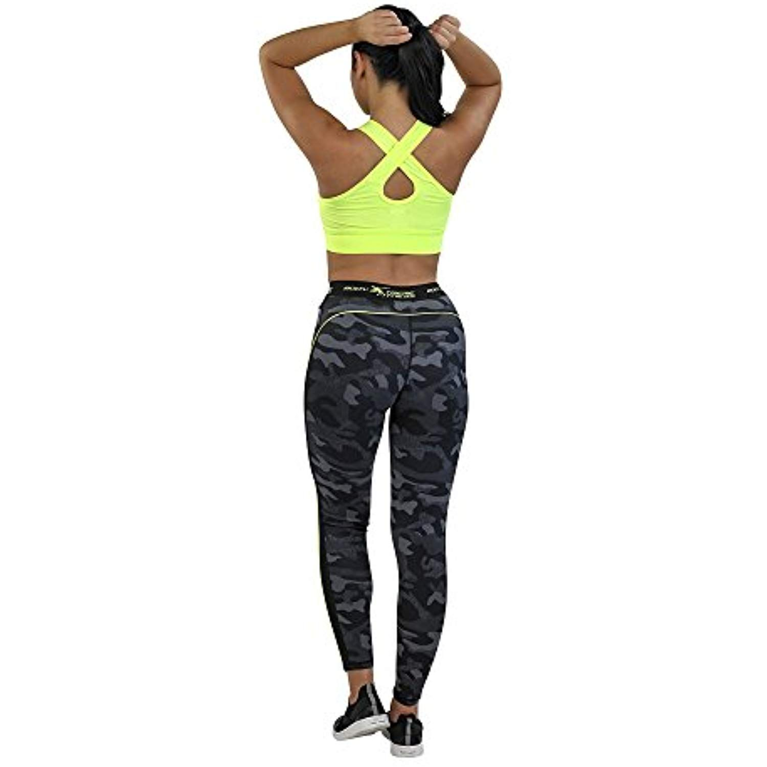 Body Xtreme Fitness Full Length Leggings and Neon