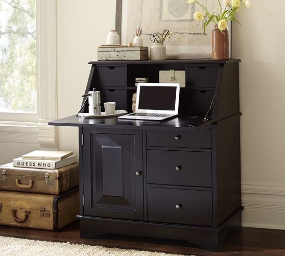 graham small space secretary for the home dining room office rh pinterest com