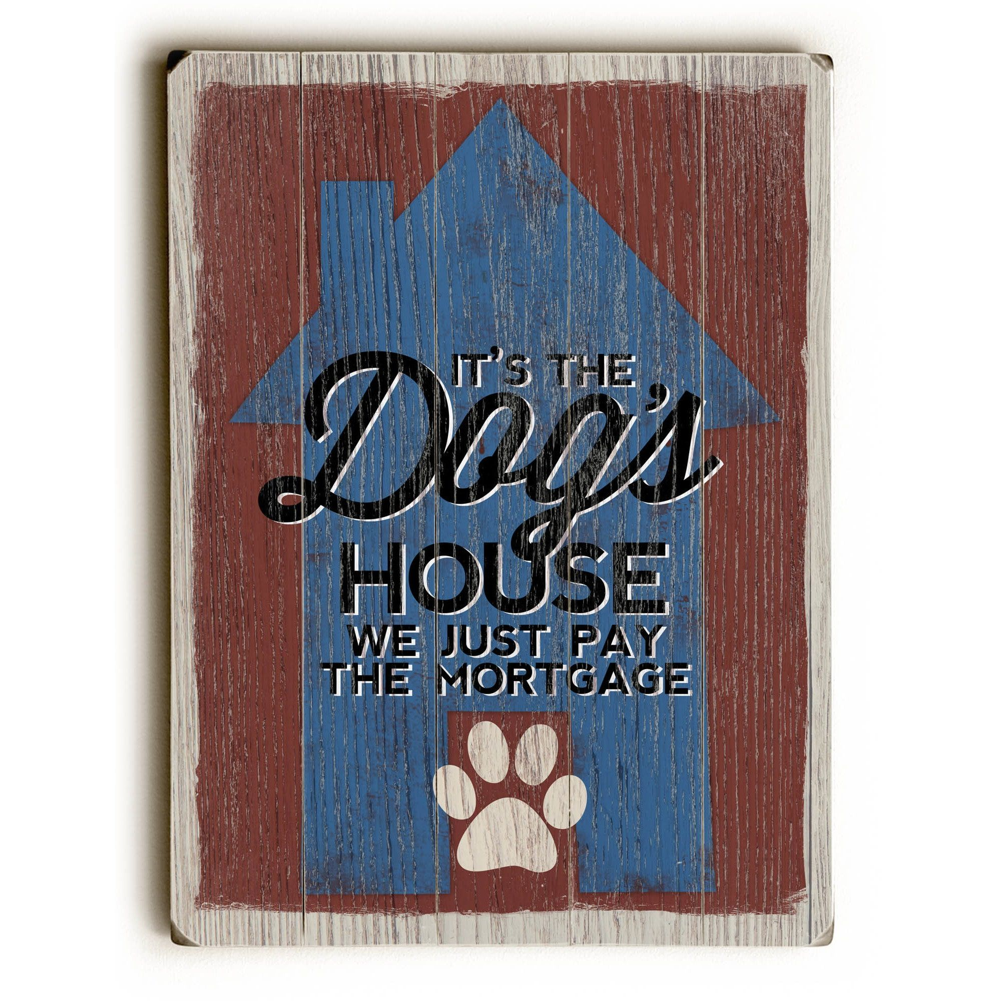 One bella casa the dogus house wall decor by misty diller