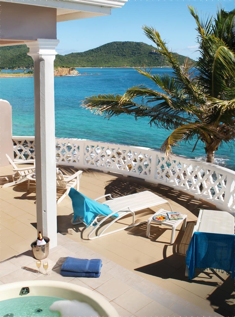 Curtain Bluff Terrace Suite Balcony Www Vacationidea Com