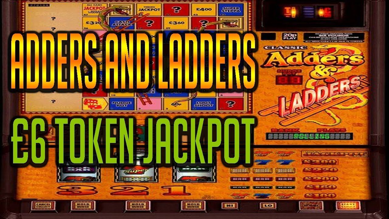 classic adders and ladders £6 jackpot fruit machine