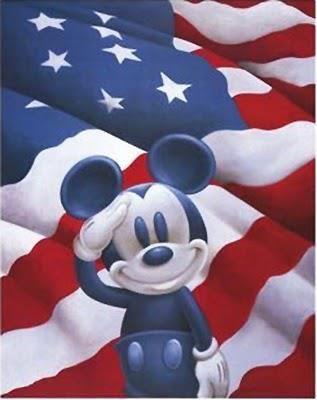 Patriotic Mickey