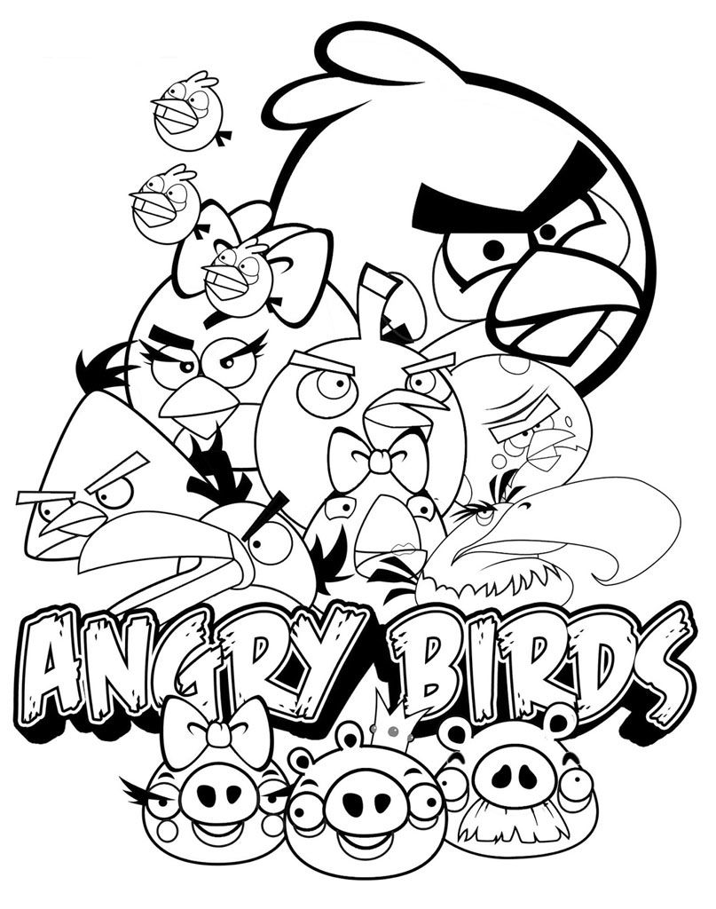 Bohaterowie Kreskowki I Gry Angry Birds In 2020 Cartoon Coloring Pages Bird Coloring Pages Animal Coloring Pages