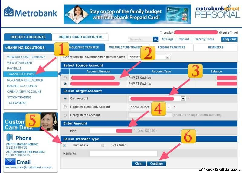 How To Transfer Money To Another Bdo Account Online