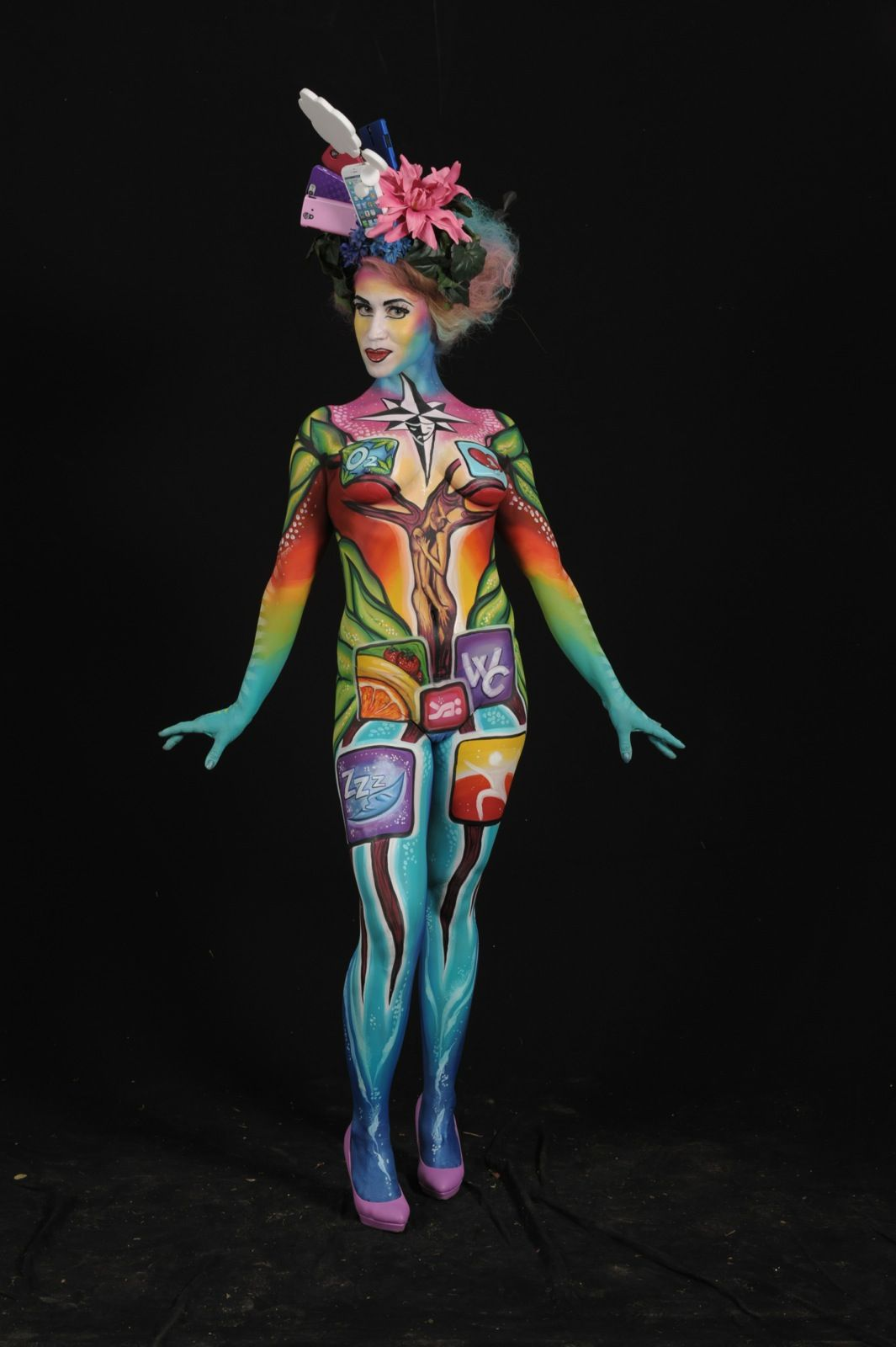 Fest300 - These Photos of the 2014 World Bodypainting ...